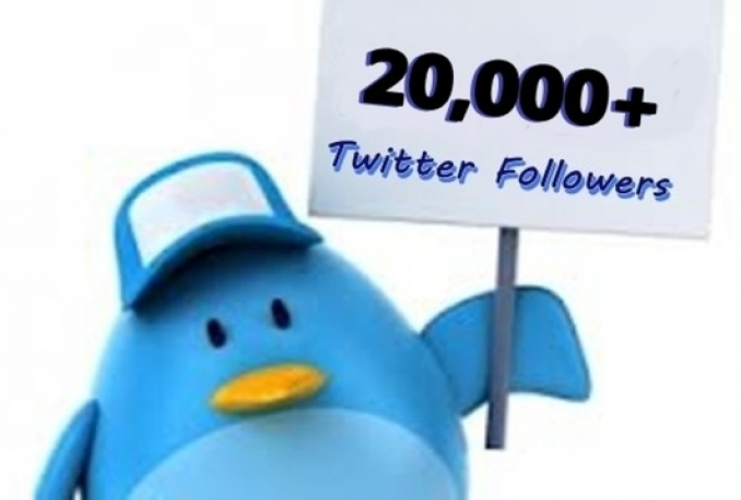 add 21,500+ Followers By Your Profile Link To Larger Your Twitters Follower In 12 Hours Without Your Account Credentials