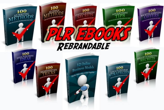 give you ten Rebrandable Ebooks and Rebrandable Software with full plr licence source files and PSD Ecovers to do with them as you please!!(as long as it's legal)