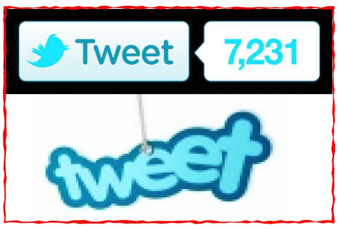 add 1000++ Real tweet vote to any URL,Sites, blog Safe