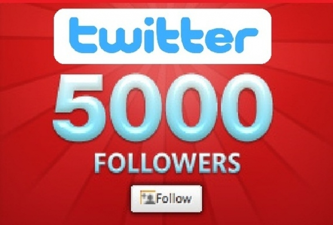 add 5100+ REAL PERMANENT Twitter Followers in 1 day