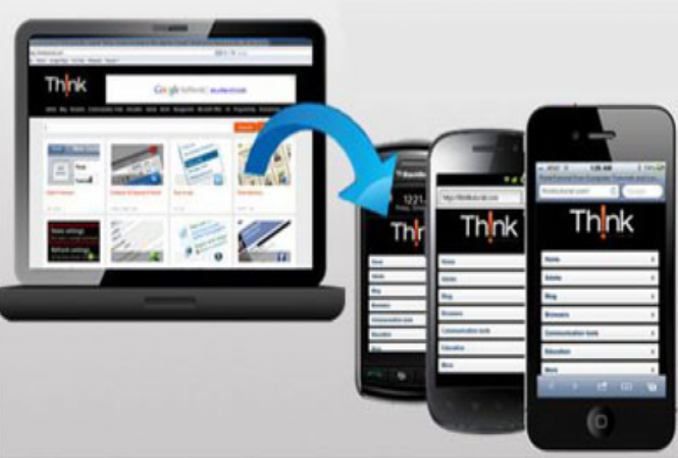 convert  your Web Site into Mobile Website