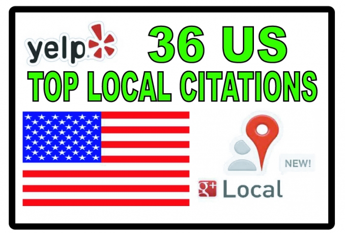 submit your business details to 36 top US Citations sites to increase your  Google+ page ranking