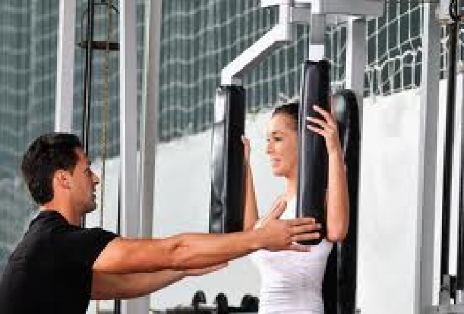 be your personal trainer for a morning