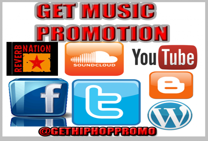 Promote Your Music New Single New Mixtape or New Album on my Blogs and Web Sites for 2 Month