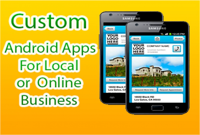 Make Professional Android Apps with 3 page for
