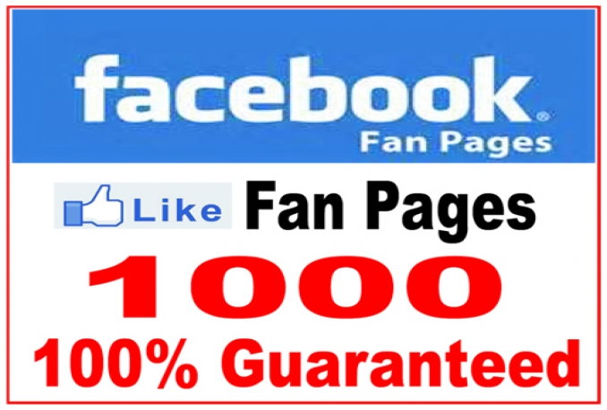 Add 1000+ GUARANTEED Real Facebook Likes to your FanPage without Admin access