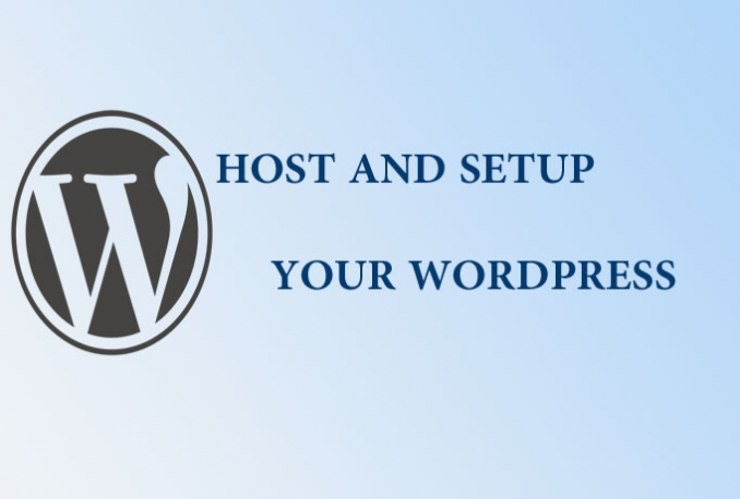 give hosting with install WordPress