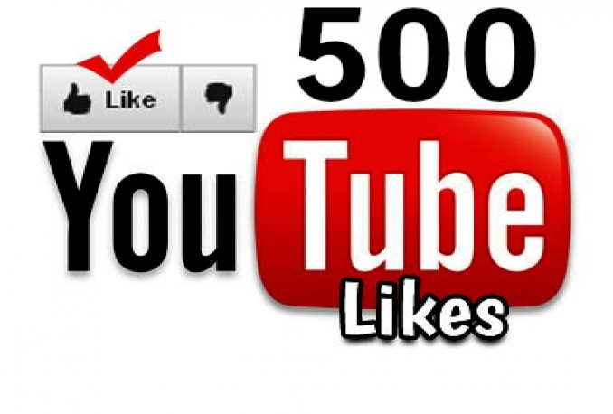 give you 500++ youtube video likes