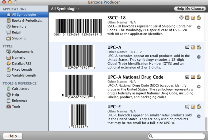 create a upc code in any format