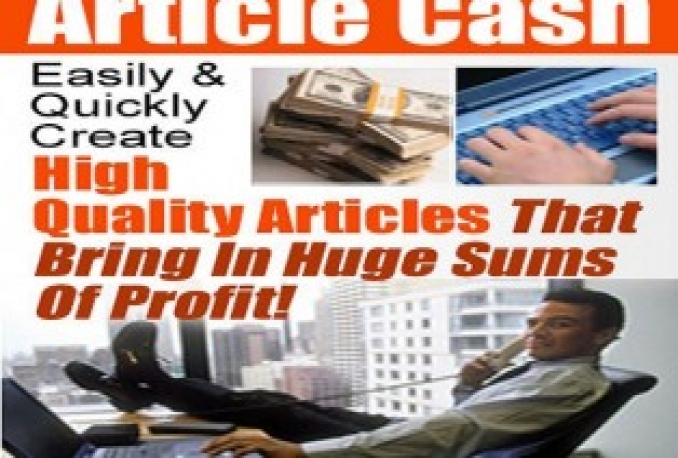 sale book on-Easily And Quickly Create High Quality Article That Bring In Huge Sums Of Profit!