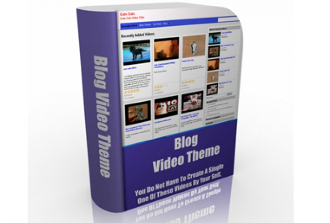 give you a Blog Video Theme