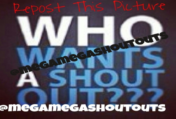 Give you 3 Shoutouts on Instagram to 2000 plus followers