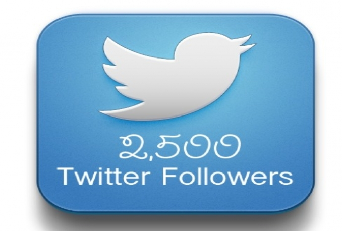 Add 2500 REAL looking Quality Twitter Followers