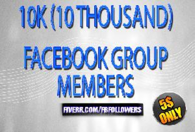 add 20K facebook worldwide group members