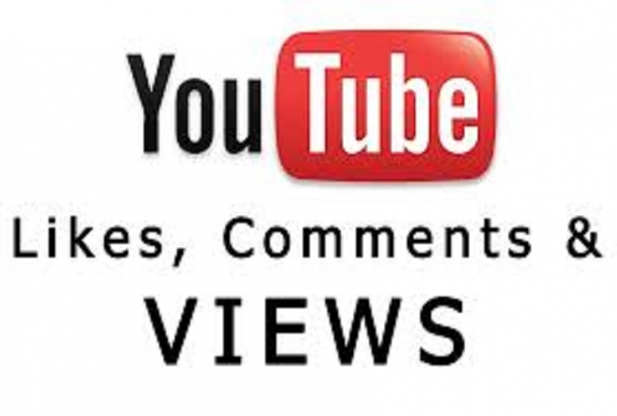 provide 50 youtube comments or 100 like or 100 subscribe or 100 favorites within 72 hour