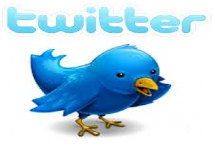 twEET and promote anything you want to my 400000+ active twitter followers withing 24 hours