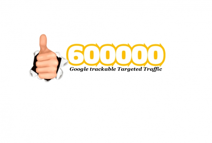 drive 600 000 Google trackable Targeted Traffic From Different Domains get sales