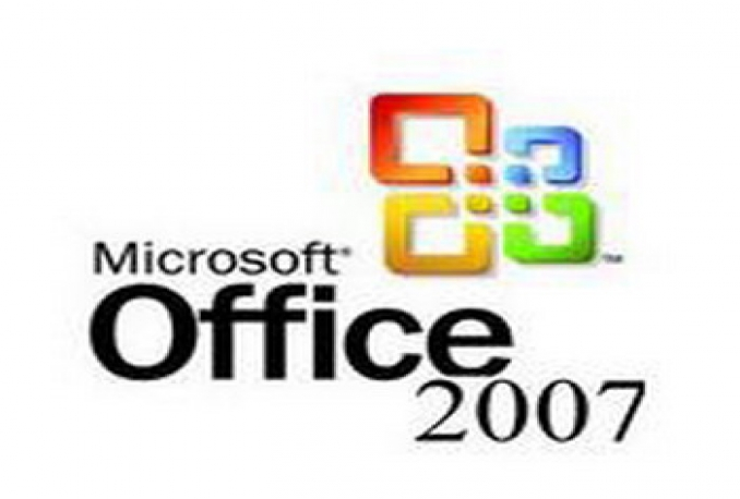 give you ms office 2007 product key only