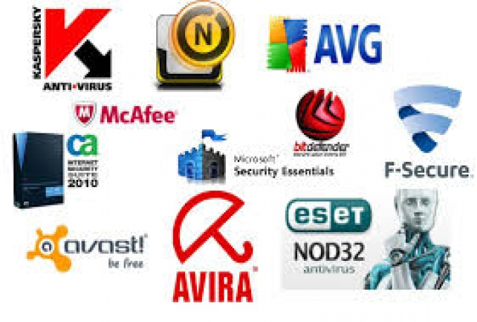 Give any antivirus with license