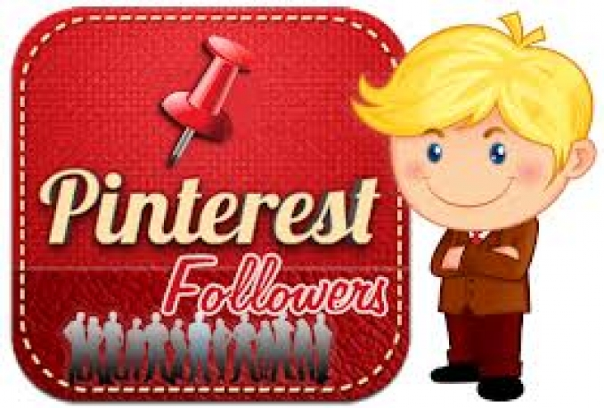 give you 1000 pinterest followers - repins - likes