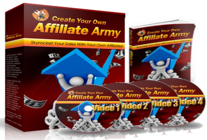 Give You Your Own Affiliate Army : Ebook + Video Tutorials + MRR