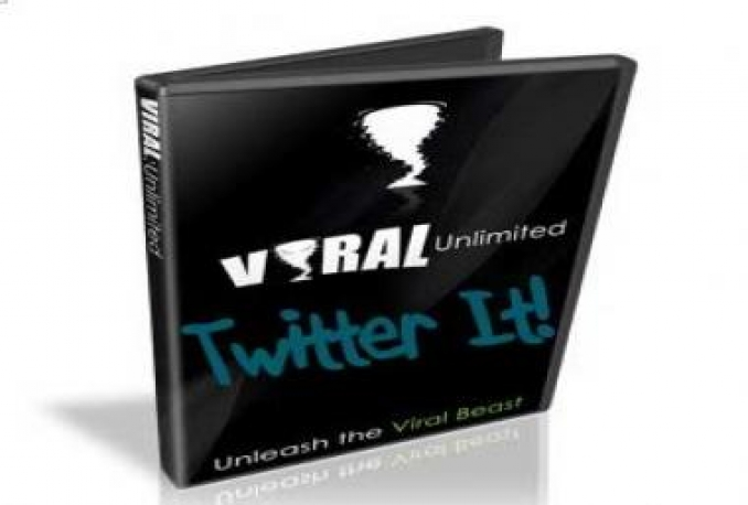 "Give You ""Viral Unlimited Twitter It"" Video Report +MRR"