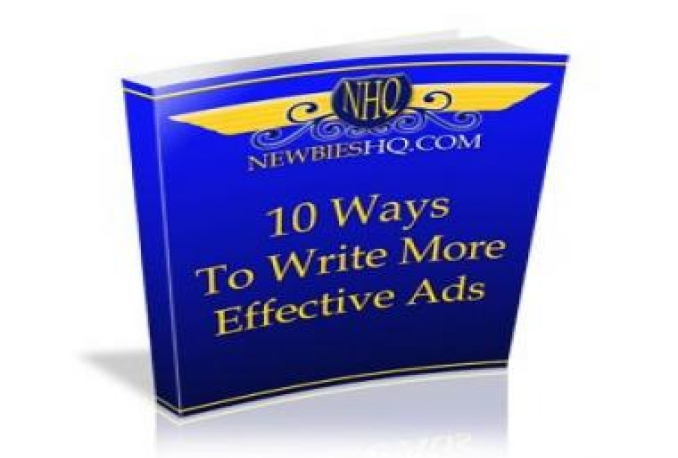 Give You 10 Ways to Write More Effective Ads with MRR
