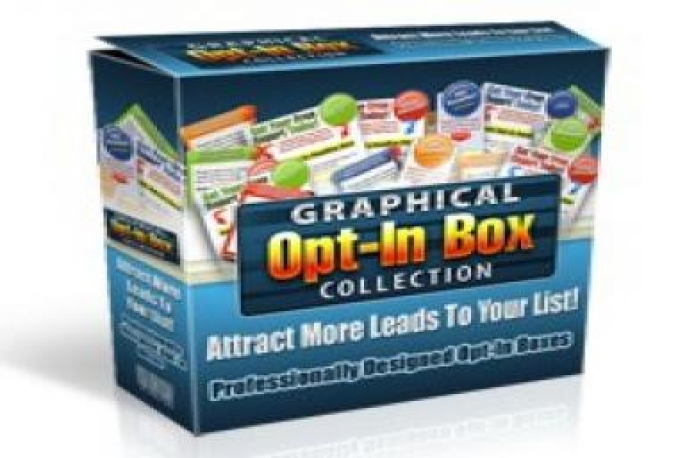 Give You Graphical Opt-In Box Collection