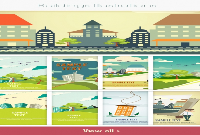 Get you the complete Illustrations set: 600+ top-quality vector Illustrations