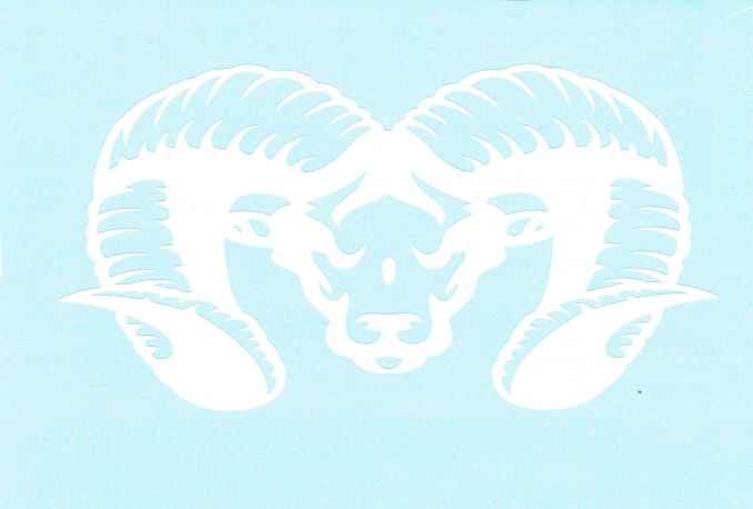SELL THIS VINYL RAM HEAD DECAL