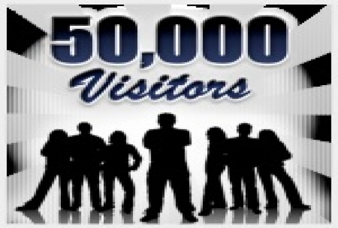 send 50,000 human visitors to your website