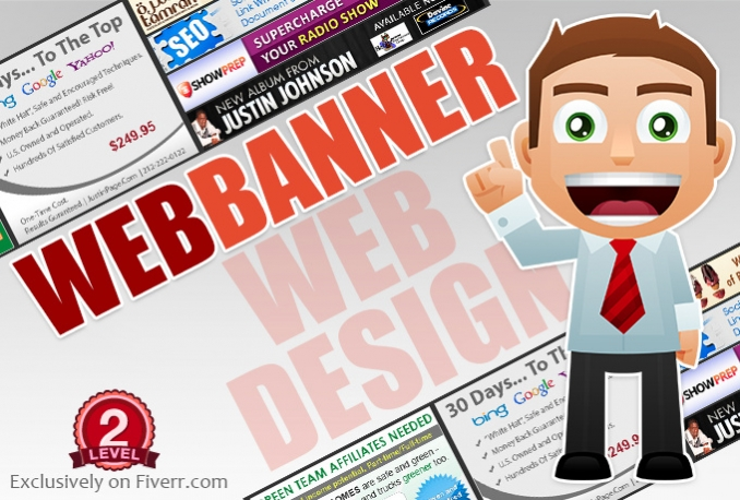 do a website banner or blog banner for $25