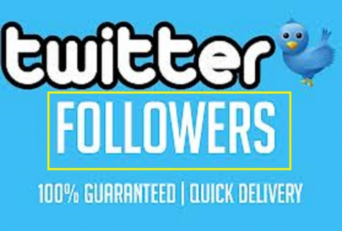 Add 5000 High Quality Real looking Twitter followers