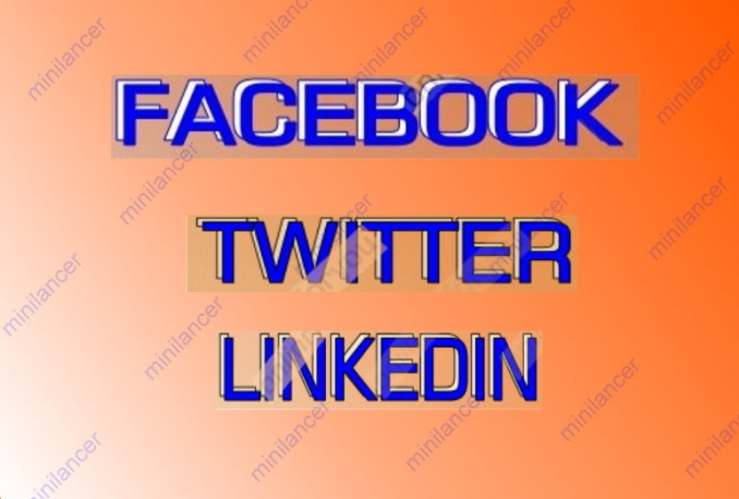 SOCIAL SIGNALS & SEO Service- 35 FACEBOOK SHARE,35 TWEET,35 LINKEDIN SHARE TO BOOST SEO