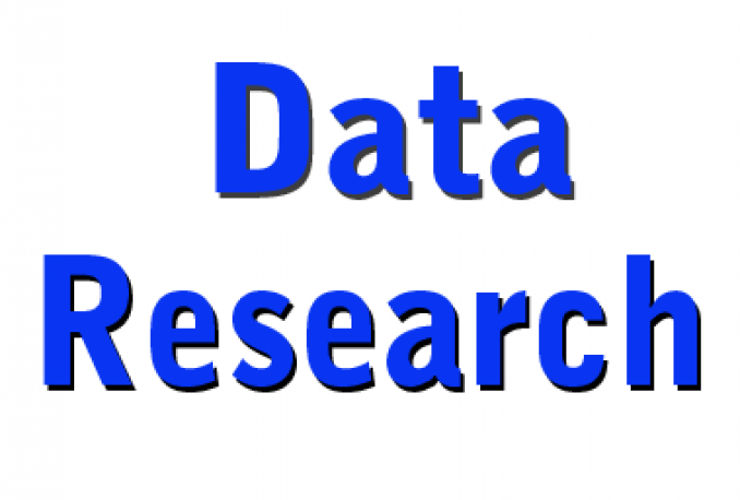 Do research information Business name, address, phone, website/email