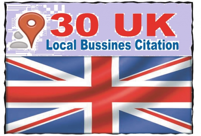 add your business in 30 UK directories to get top in local search