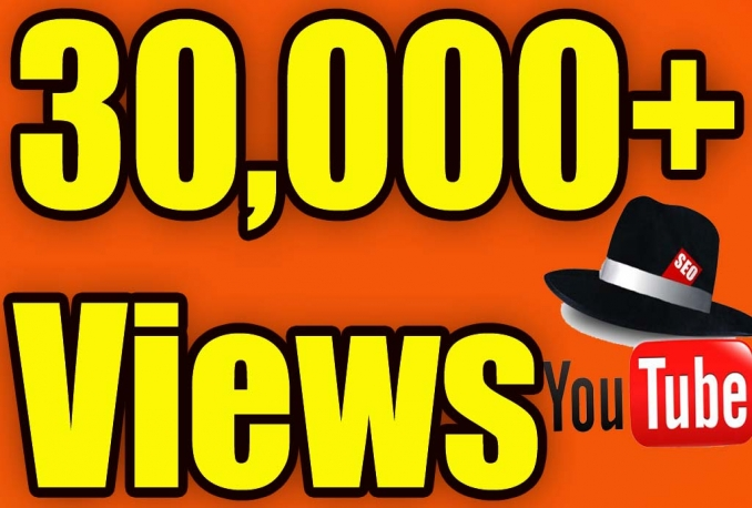 Give You High Quality 30,000++YOUTUBE views