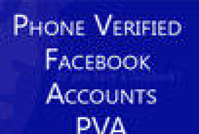 give u 6 facebook phone verified accounts with 10 DUMMY Applications and 15 days  replacement warranty in it