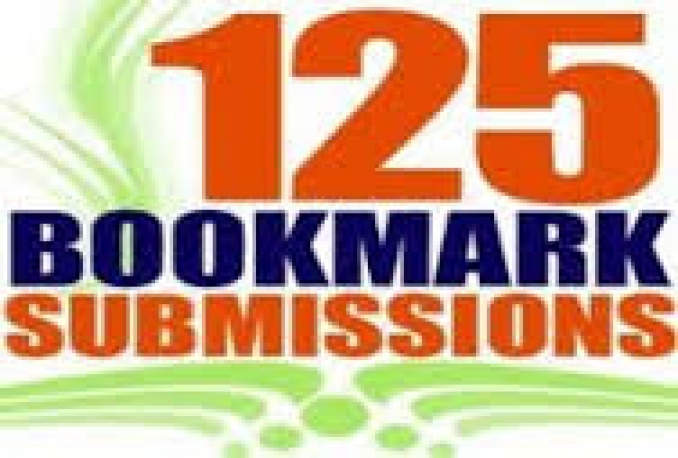 submit your site on 125 social bookmarking sites