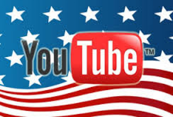 Add Real and active 1000+ USA YouTube views