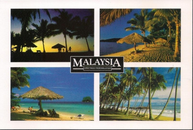 send you a postcard from Malaysia to anywhere in the world