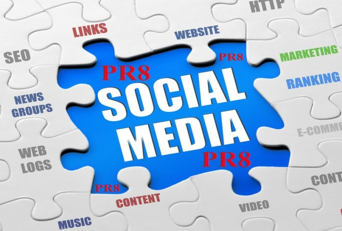 share your link on PR8 social media networks