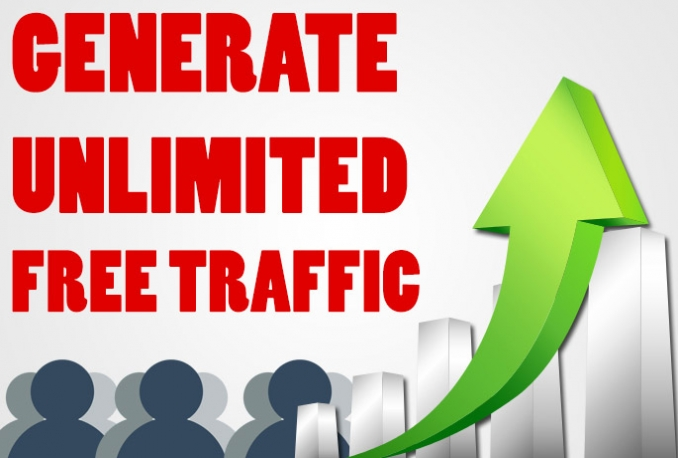 Give You Guide To Generate Unlimited Free Traffic