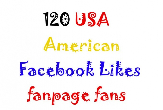 add 150 Real USA Fb fnpage,photo,Post, Likes or fb followers