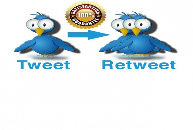 make your Tweet VIRAL with 1000+ High Quality Twitter ReTweets in less than 24h