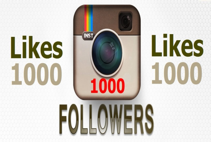 add 1000 Safe HQ INSTAGRAM Followers OR 1,000 Instagram Likes