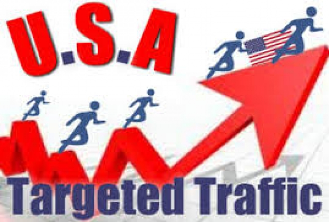 Give you 120,000 Real/Human/UniqueUSA Visitors safely.