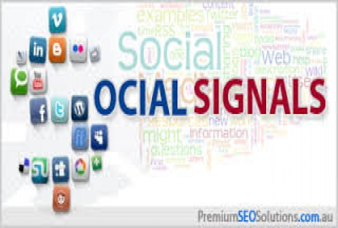 Social signals, Facebook Share, Tweets, Pinterest Pins, Linkedin,Drigg