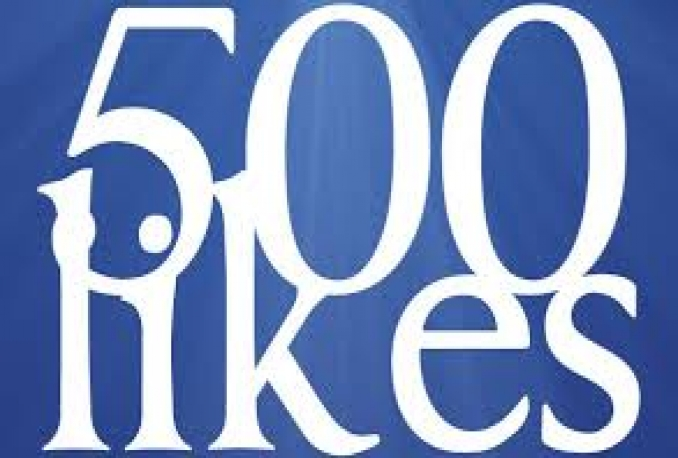 Cheapest 500+ real & active facebook fanpage or post likes