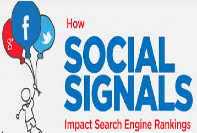 250 SEO SOCIAL SIGNALS - 50 GOOGLE PLUS, 50 FB SHARE, 50 RETWEET, 50 LINKEDIN & 50 PINTEREST SHARE